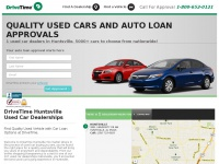 DriveTime Huntsville | Used Cars & Auto Financing For All Credit Types