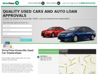 DriveTime Knoxville | Used Cars & Auto Financing For All Credit Types