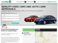 DriveTime Montgomery | Used Cars & Auto Financing For All Credit Types