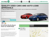 DriveTime Myrtle Beach | Used Cars & Auto Financing For All Credit Types