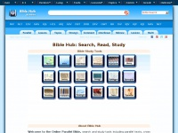 Bible.cc - Online Parallel Bible: Weaving God's Word into the Web