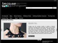 becauseclothing.com
