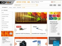 Difox.com - Difox - European wholesaler for Digital Imaging, Supplies, Computer, Navigation and Consumer Electronics.