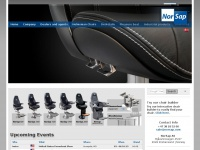 Norsap.com - A leading manufactorer of Pilot, Operator, helmsman, ROV, Drilling, Crane, Bridge Chairs for the Maritime Industry.