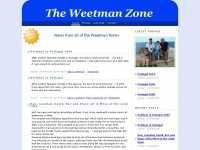 The Weetman Zone Home Page