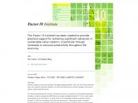 Factor10-institute.org