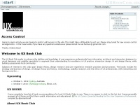 uxbookclub.org Thumbnail