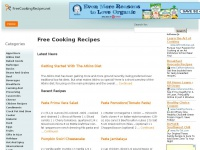 freecookingrecipes.net Thumbnail