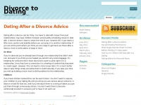 Divorce Dating - How to start Dating again after a Divorce