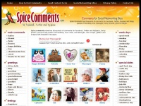 Comments for Facebook, Twitter and MySpace at SpiceComments.com