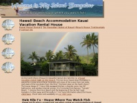 Hawaii beach accommodation Hawaii beach house Kauai vacation rentals
