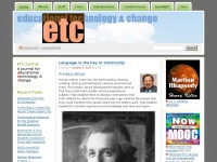 Educational Technology and Change Journal | For educators in colleges and schools