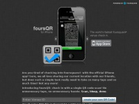 Foursqr.net - foursQR - The world's fastest foursquare® venue check-in app