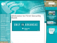 Welcome to First Security Bank