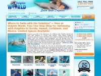 Swimming With Dolphins -Dolphin World - (800)667-5524