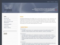 carnegie-fund-services.ch Thumbnail