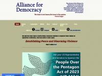 thealliancefordemocracy.org Thumbnail