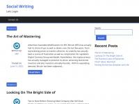 socialwriting.info