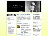 womenshistorymonth.gov Thumbnail
