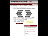 discoverthenetworks.org Thumbnail