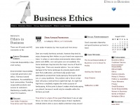 Ethicsinbusiness.net