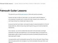 falmouthguitarlessons.co.uk