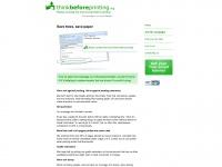 Thinkbeforeprinting.org