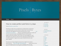 Pixels vs. Bytes | Coding and design since 1998.