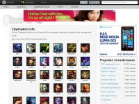 Championselect.net - ChampionSelect - League of Legends Counterpicks