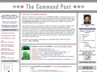 The Command Post - A Newsblog Collective