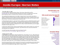 Inside Europe: Iberian Notes