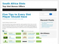 South Africa Slots - Top Slot Bonus Offers
