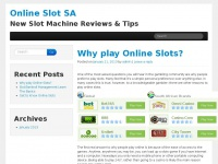 Online Slot SA - New Slot Machine Reviews & Tips
