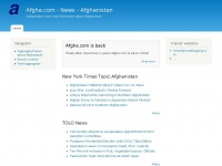 Afgha.com - News - Afghanistan | Independent news and information about Afghanistan