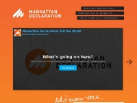 manhattandeclaration.org Thumbnail