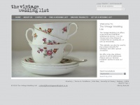 Thevintageweddinglist.co.uk