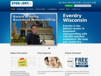 Everdrywisconsin.com - Basement Waterproofing Milwaukee, WI | Everdry Waterproofing Wisconsin