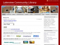 Lakeview Community Library | 112 Butler Street Random Lake, WI 53075 (920) 994-4825