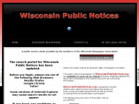wisconsinpublicnotices.org