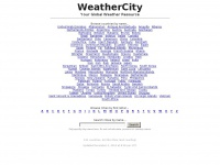 Weathercity.com - Weather Forecasts at WeatherCity