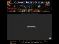 carminestreetguitars.com