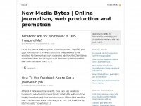 New Media Bytes | Online journalism, web production and promotion -New New Journalism