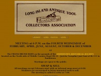 Liatca.org - Long Island Antique Tool Collectors' Association