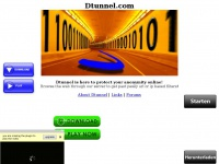Dtunnel.com will protect your anonymity on the internet, helping you evade url and ip filters!
