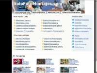 solofotomontajes.com: The Leading Solo Foto Montajes Site on the Net