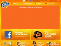 Fanta.com - Fanta. More Fanta. Less Serious.
