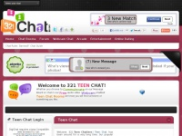 321teenchat.com - 321 Teen Chat - Free teen chat rooms for ages 13-19