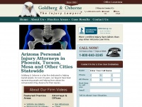 Goldberg & Osborne - Personal Injury Lawyers - Phoenix, Tucson, Mesa