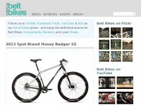 Beltbik.es - Belt Bikes | The Definitive Source of Belt Driven Bicycles