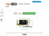 Youtube Video Downloader Online to MP3/MP4 - Ytub3.com